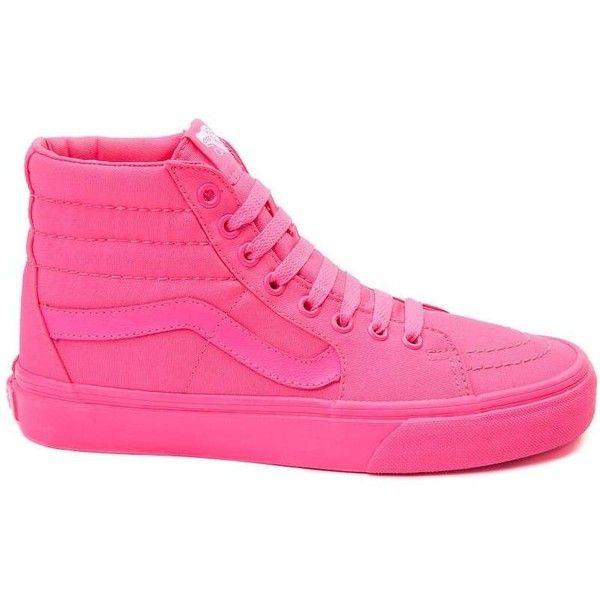 hot pink sk8 hi vans