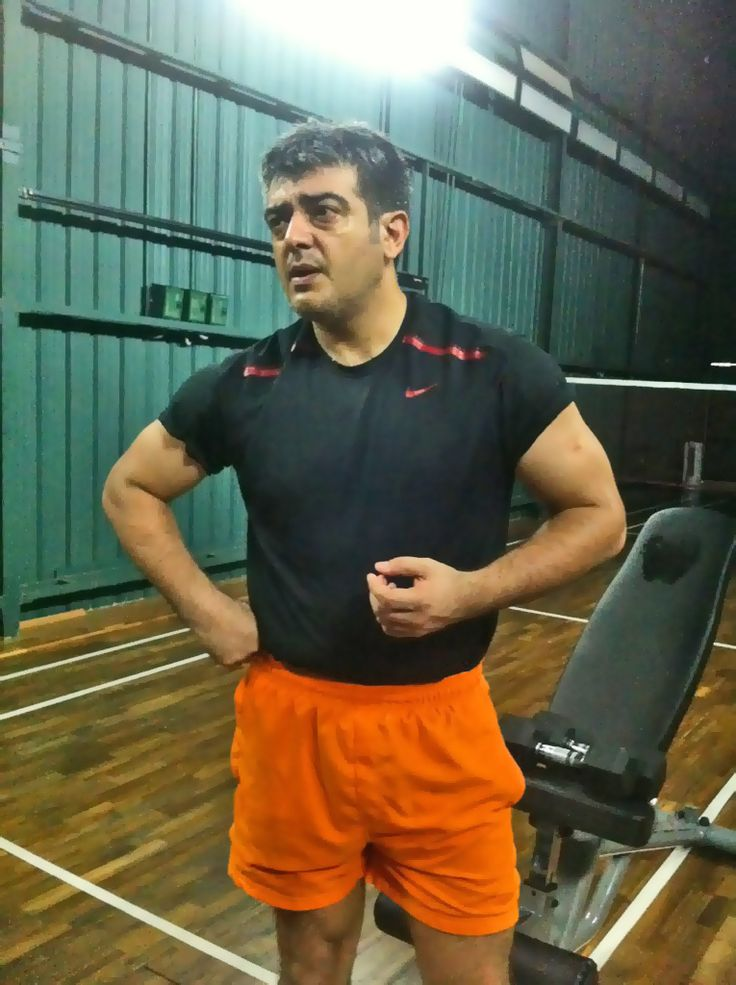Ajith Gym Workout Image