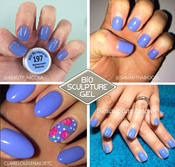 No.197 - Bohemian Beauty from the Happy Hippie Nail Collection! #biosculpturegel #bluenails #biogel #biosculpture #technicians #creative #inspiration #blognails