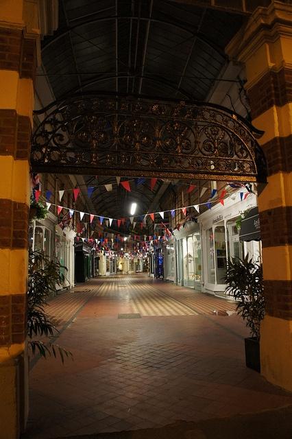 Westbourne Arcade, Bournemouth, Dorset by Alwyn Ladell, via Flickr
