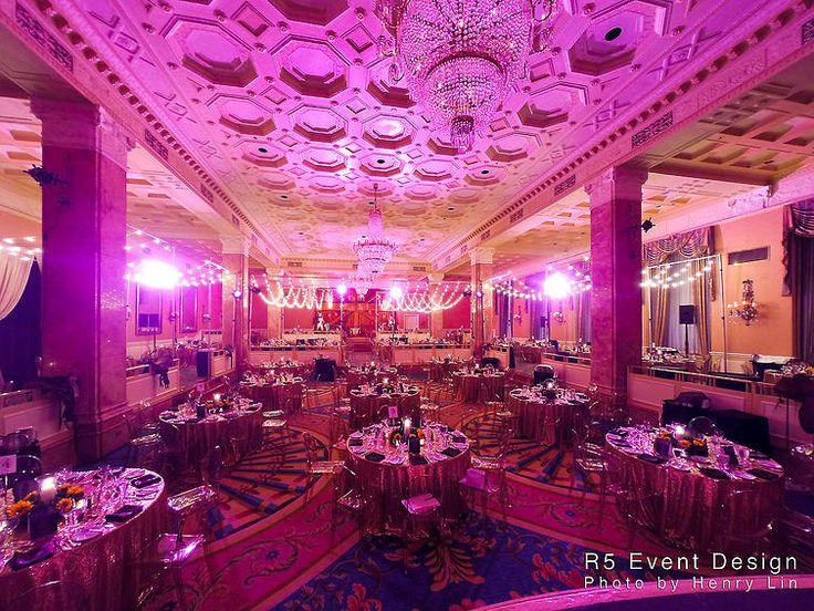 Tim Hortons Gala Full Room Colour Wash Lighting