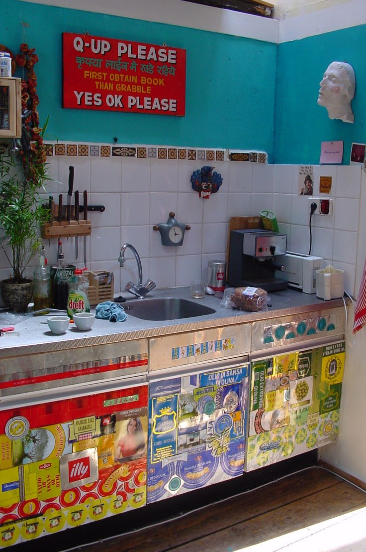 Best 25 funky kitchen ideas on pinterest gypsy kitchen for Home decor quirky