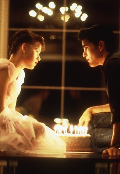 Sixteen Candles:) even though ill be turning 17 someone should totally end my birthday like this!