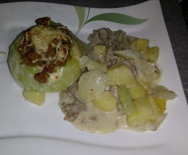 Rezept Gefüllte Kohlrabi mit Hackfleisch von Felicia14 - Rezept der Kategorie Hauptgerichte mit Gemüse