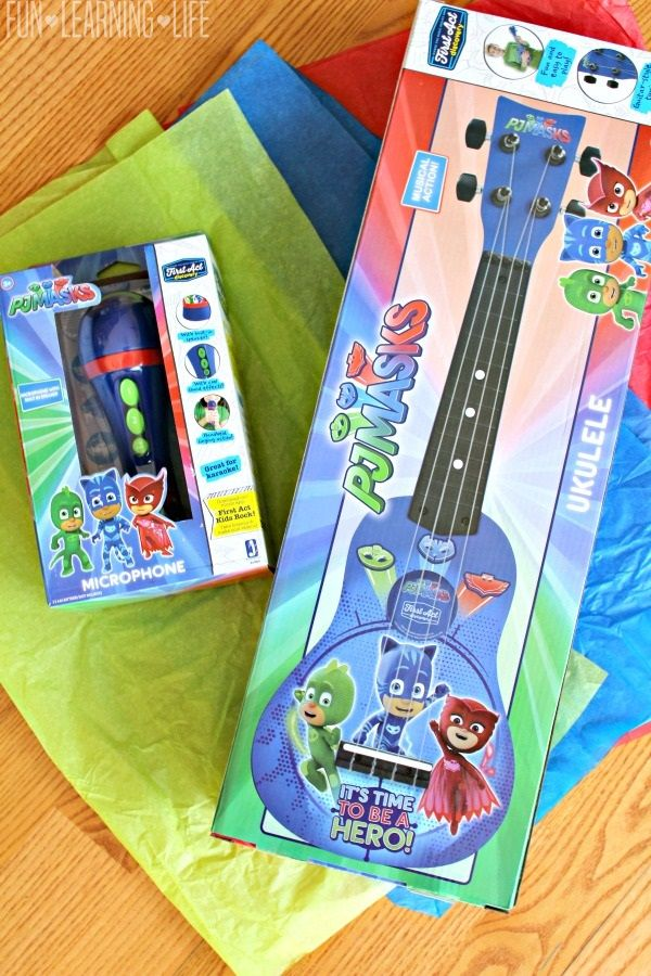 Hosting A Dance Party With Pj Masks Musical Instruments Toddler