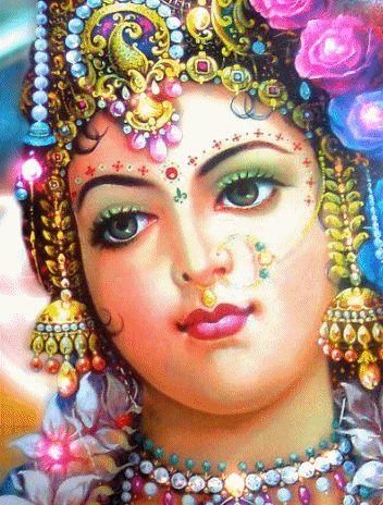 DragonsFaeriesElves&theUnseen : Radha-Hindu Goddess of Love