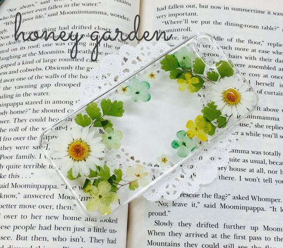 グリーンのアジアンタムが爽やかなiPhone5/5s用のケースです♡ノースポール&小花を使っております。ハードケースカラー:クリアレジンで本物の押し花を埋め込...|ハンドメイド、手作り、手仕事品の通販・販売・購入ならCreema。