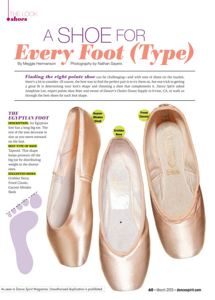 """So true! I couldn't figure out why Capezio and Bloch were killing my Egyptian feet and making them look bad--those brands look amazing on so many other feet and I was so sad mine looked and felt like garbage. I prefer a good Grishko, haven't tried Gaynor or Freed hmm. """"A Shoe for Every Foot (Type)"""""""