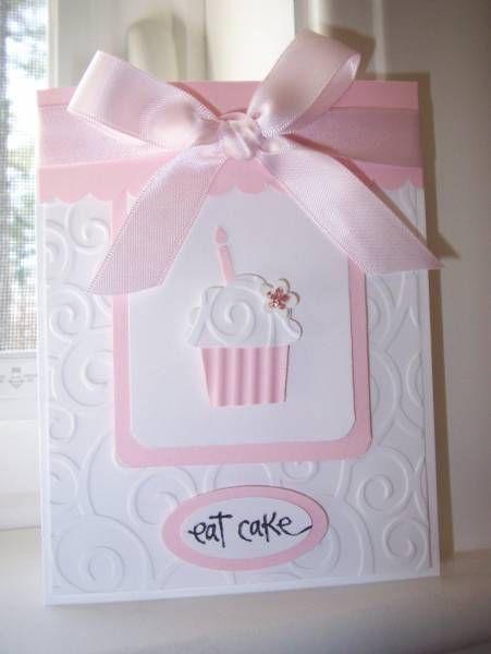 CB D'vine Swirls embossing folder, SU cupcake builder punch, oval punches