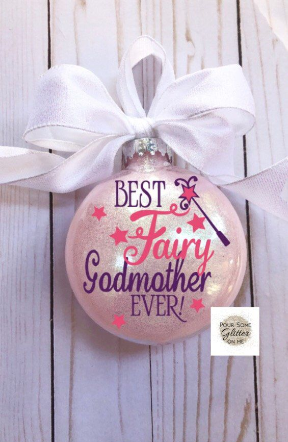 Best Fairy Godmother Godmother Ornament Baptism Etsy Godmother