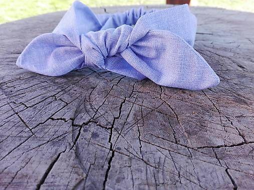 Radost-sit / Čelenka - modrofialová, levanduľová
