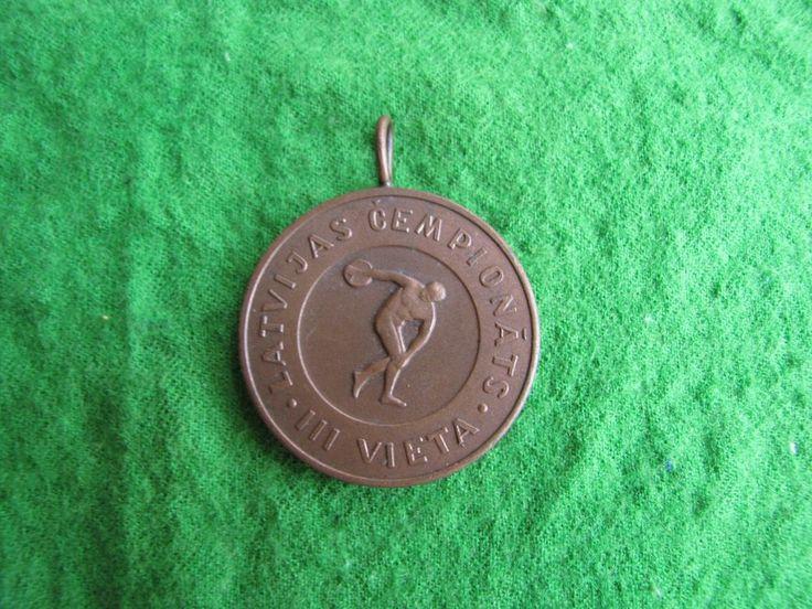 Latvia Riga Sport  Badge Medal Championships 3nd place