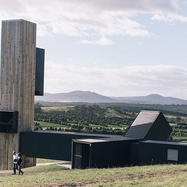 Brown Brother's Devils Corner vineyard in Tasmania was an amazing collaboration between @cumulus_studio and Royal Wolf using a combination of 20ft and 40ft containers. #royalwolf #cargotecture #shippingcontainer #shippingcontainers #architecture #brownbrotherswinery #cumulusstudio #tasmania #winery #youcandoanything #devilscorner