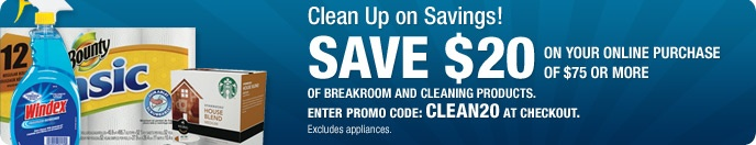 Business Cleaning Supplies: Janitorial Supplies & Cleaning Supply Products at OfficeMax. Ends 8/25/12