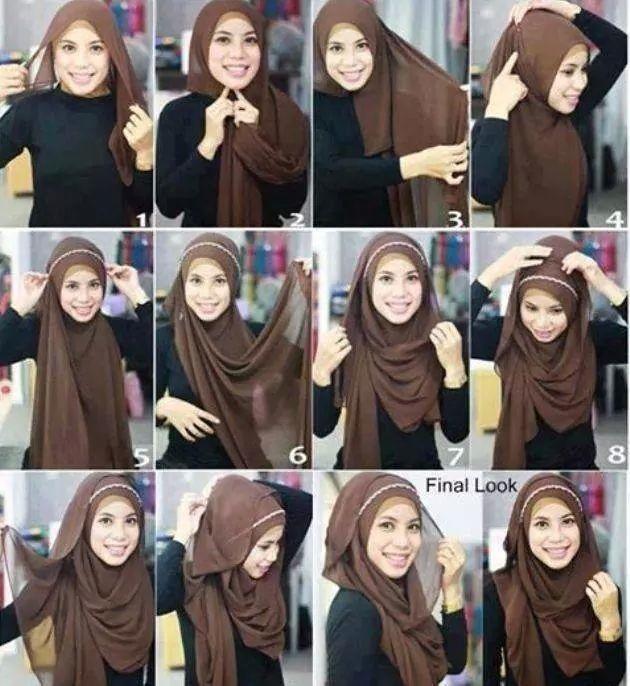 Hijab with band
