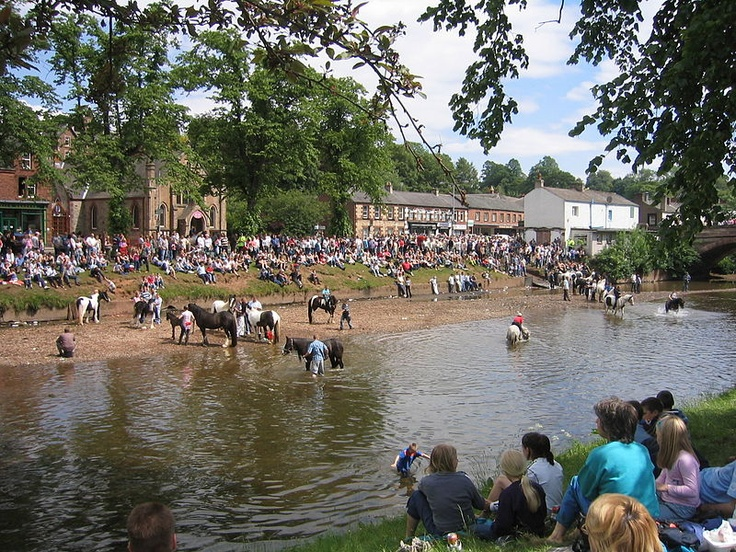 The Appleby Horse Fair is a horse fair which is held annually at Appleby-in-Westmorland, Cumbria.
