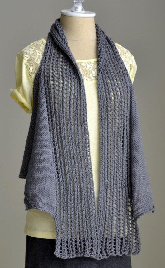 Free Knitting Pattern for Pathways Vest - Amy Gunderson s ...