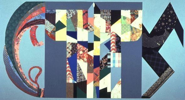 Image result for Miriam Schapiro Anatomy of a Kimono (1974)