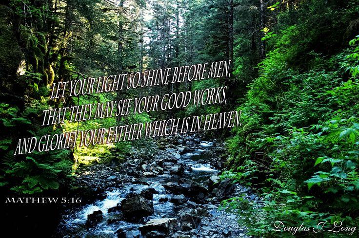 Mathew 5:16