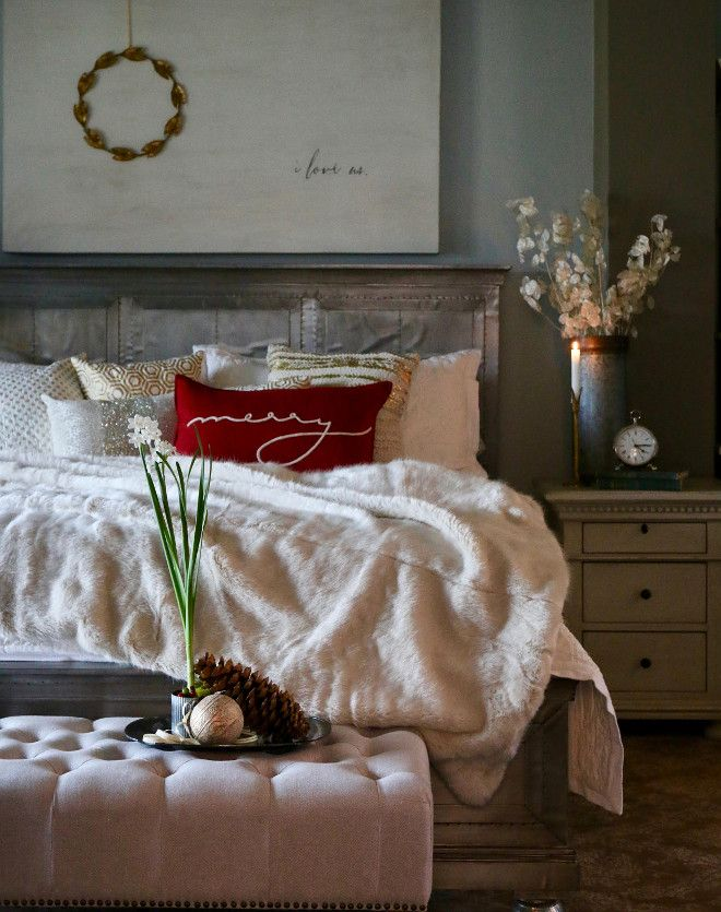1000 ideas about christmas bedroom decorations on - Best christmas bedroom decoration ...