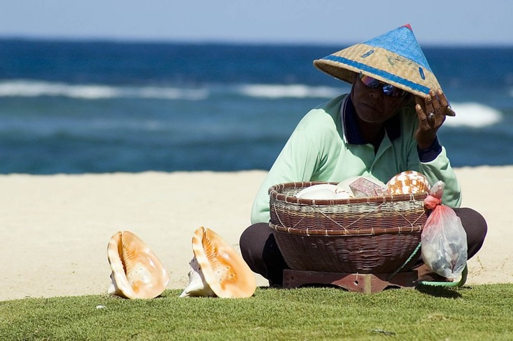Beach Hawker at Nusa Dua - Bali, Indonesia