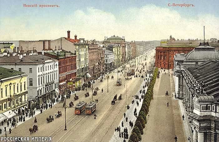 St. Petersburg- 1800s-1917    [Note that the name was changed to Petrograd in 1912]