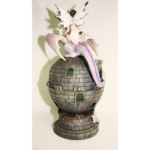 Beautiful Enchanting FAIRY DRAGON TAMER WITH LIGHT UP CASTLE Price: $39.99