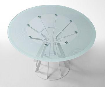 Superb Vig Furniture Modrest Modern Round Dining Table