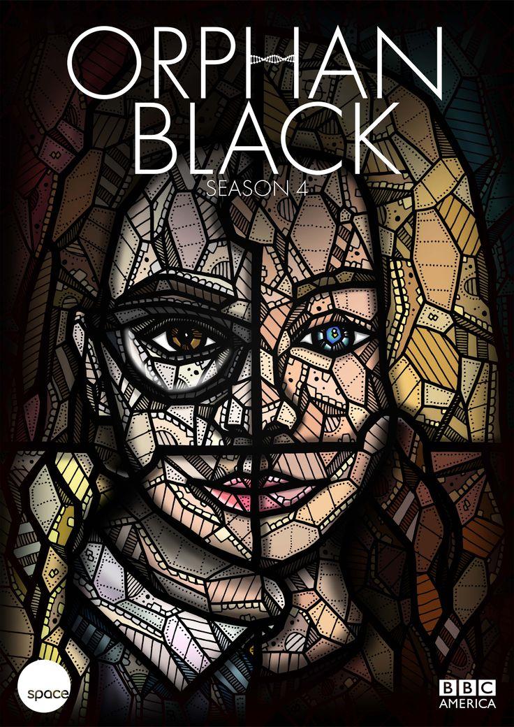 Orphan Black Season 4 Poster by Kelly Blake #OrphanBlack #OrphanBlackPoster