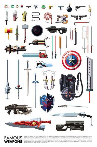 Famous Weapons | Misty water coloured memories.....