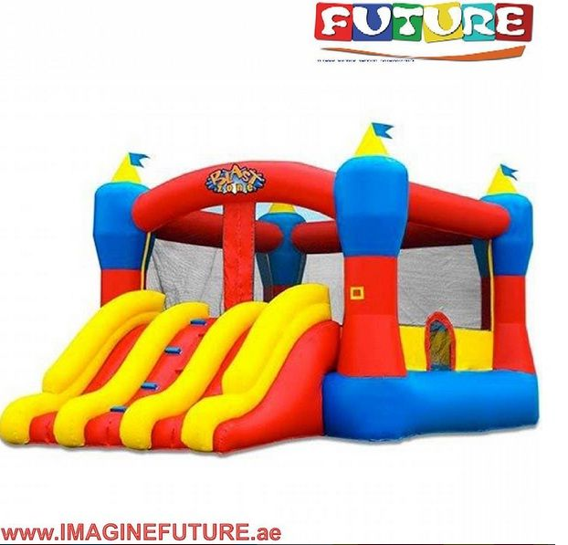 blastzone magic combo 13 commercial inflatable bouncer w slide inflatable bounce house - Inflatable Bounce House