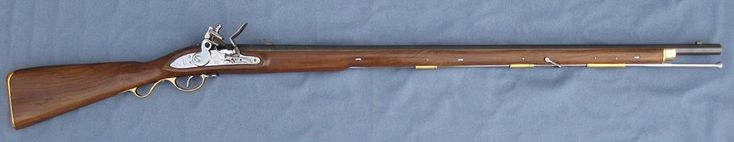 Replica of a British New Land Pattern Brown Bess Musket - Light Infantry Pattern, circa 1812 to 1840.