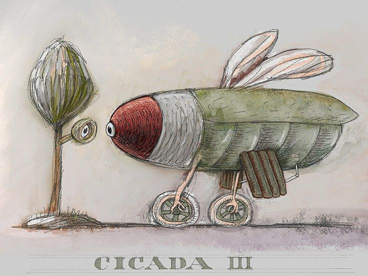 Cicada-3  ArtSet on iPad