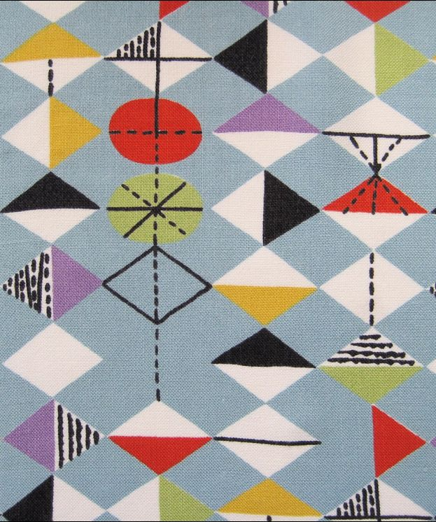 Pattern  design by Marion Mahler(1911-1983), 1950s.http://decdesignecasa.blogspot.it