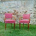 fauteuil bridge tissu deco ROMO Editeur Anglais VENDU de l'album La Boutique Sièges