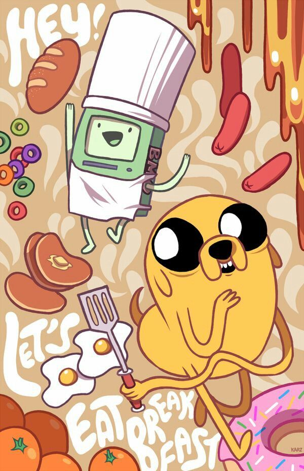 Adventure time Jake & BMO(≧∇≦)