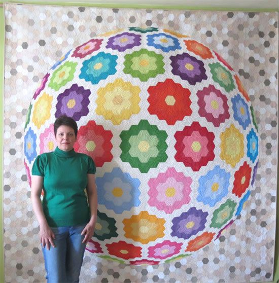 Together in a Friendship World  /Geta's Quilting Studio