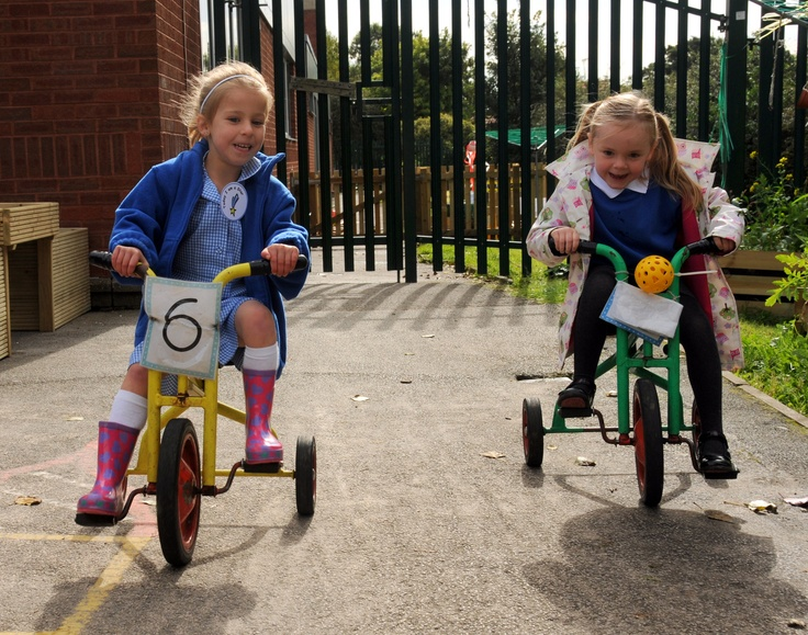 Numbers on tricycles