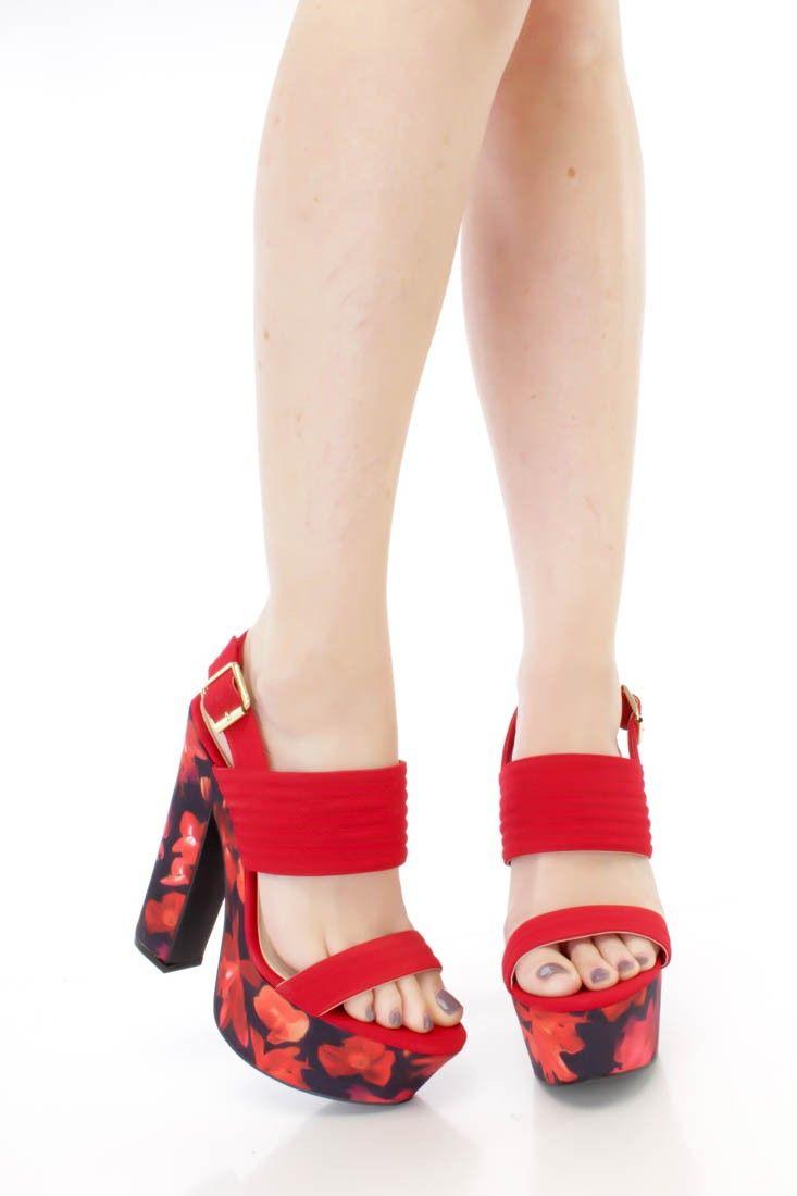 Red 6 Inch Heels