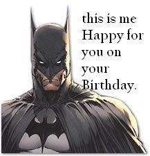 I WANT THIS AS A BIRTHDAY CARD!!! He looks so enthused.