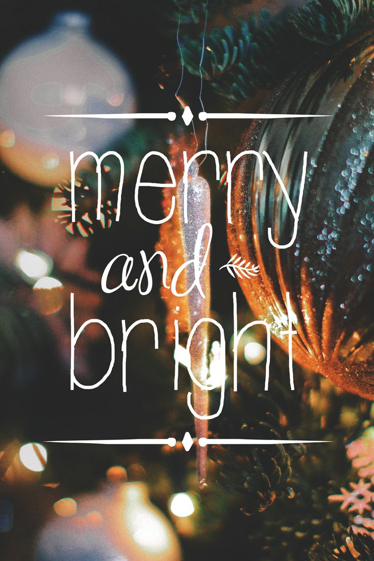 FREE iPhone Wallpaper!! #Christmas #Holidays #Merry