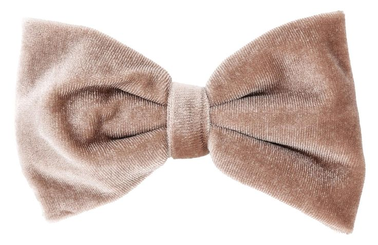 - Haarspange - Altrosa - Große Schleife aus Samt - Weihnachten Länge: 11 cm Breite: 7 cm
