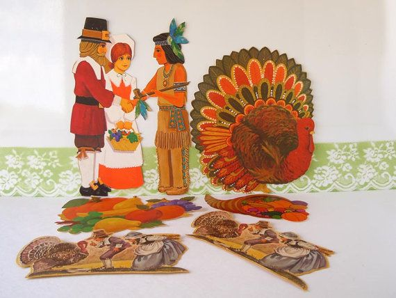 Decorating Ideas > 17 Best Images About Thanksgiving On Pinterest  Easy  ~ 080207_Thanksgiving Vintage Decorations