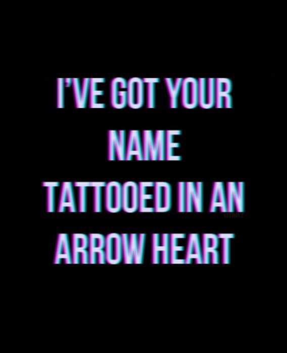 I think the boys should all get a tattoo of an arrow heart with 5SOSFAM written in it. do you guys think that it's cool