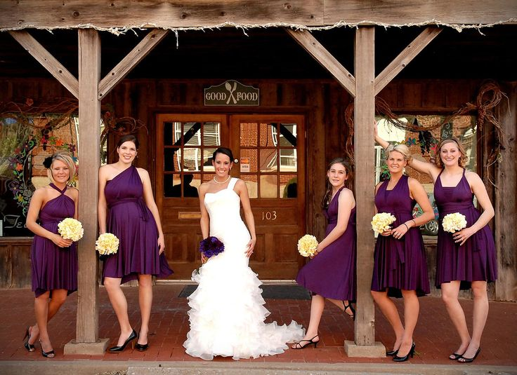 Bridesmaid dresses choose color different styles