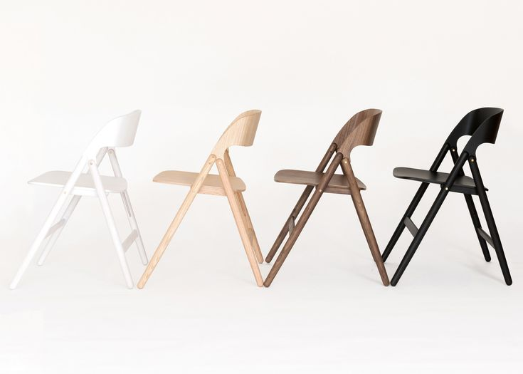 David Irwin Designs Wooden Folding Chair For Case Furniture