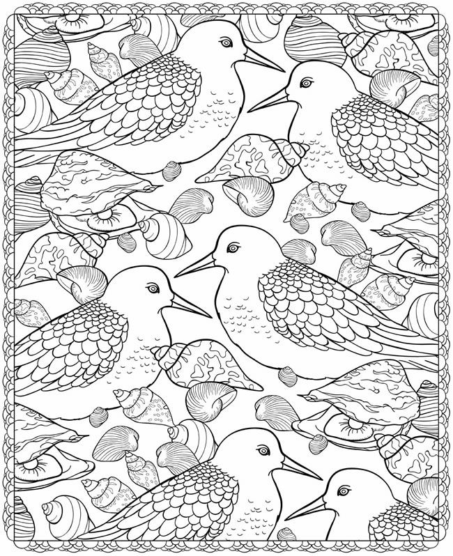 Sea Life Coloring Pictures To Print And Color