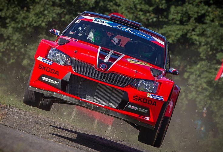 Jan Kopecky - Skoda Fabia R5 - ERC 2016 - Barum Czech Rally