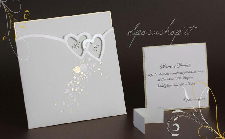 Partecipazioni di nozze inviti di matrimonio cartoncino for Partecipazioni nozze online