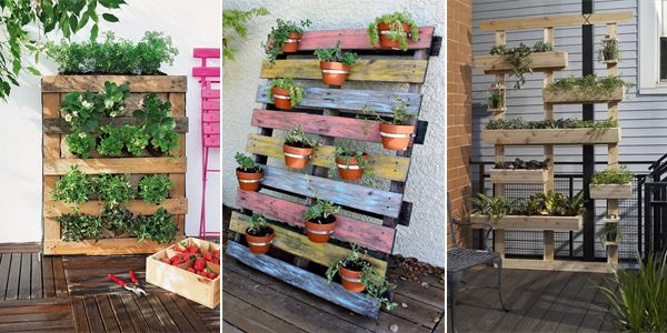 Creating garden planters from pallets can add a personal and stylish touch to your backyard or patio without costing too much.